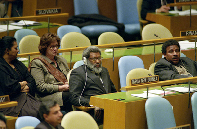 Delegation of Papua New Guinea Attends 56th Session of the General Assembly