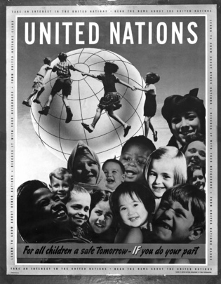 United Nations &#034;Children&#039;s Poster&#034;