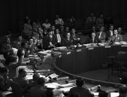 United Nations Security Council Discusses Greek Question