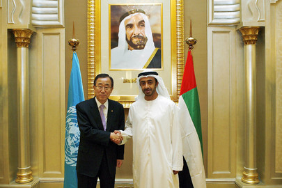 Secretary-General Meets Foreign Minister of the United Arab Emirates