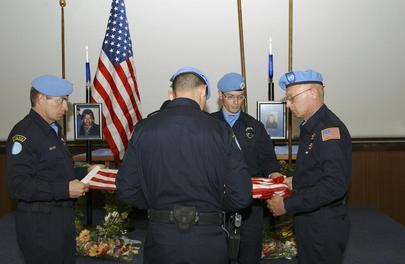 Memorial Service to Commemorate Death of UNMIK Officers