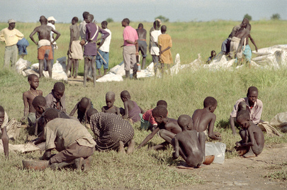 Operation Lifeline Helps Displaced People in Southern Sudan