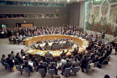 "Security Council Votes on Use of ""All Necessary Means"" Against Iraq"