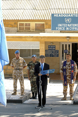 Observance of First Anniversary of Attack on UN Headquarters in Baghdad
