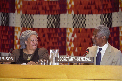 Nobel Laureate Toni Morrison Opens Secretary-General's New Lecture Series