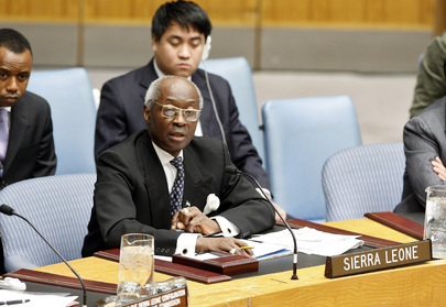 Permanent Representative of Sierra Leone Addresses Security Council