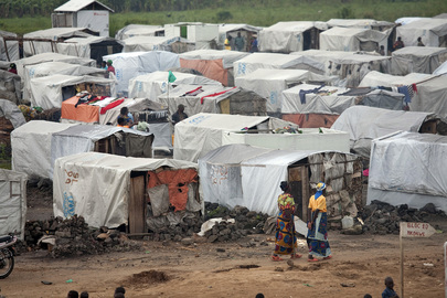 IDP Camp in Kibati