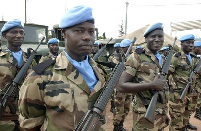 Peacekeepers in Côte d'Ivoire (UNOCI)