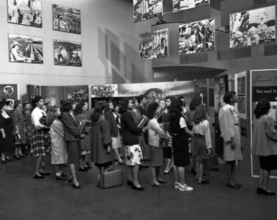 """Know Your United Nations"" Exhibit, 15 Sept. - 15 Oct. 1947"