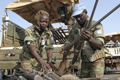 UN Peacekeepers Disarm Militia Groups