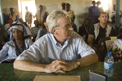 USG for Humanitarian Affairs Visits Refugee Camp in Chad