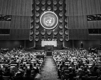 Opening Meeting of the 10th Session of the U.N. General Assembly