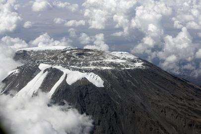Le sommet du Mont Kilimandjaro