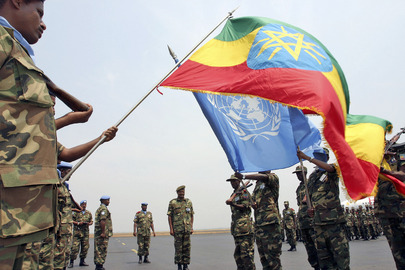 Change of Ethiopian Peacekeeping Contingent in Burundi