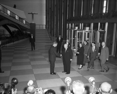 Soviet Premier Visits United Nations