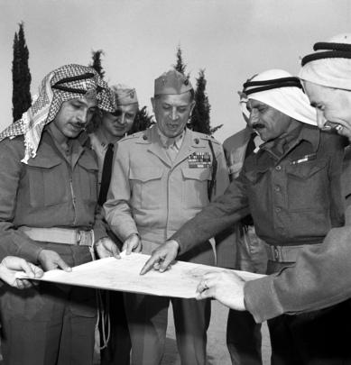 U.N. Truce Observers in Jerusalem