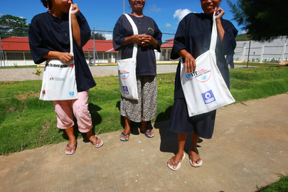 Women Inmates in Timor-Leste Visited by UNMIT HIV/AIDS Unit