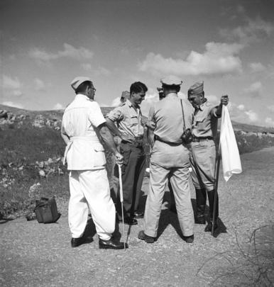 UN Truce Obervers in Palestine