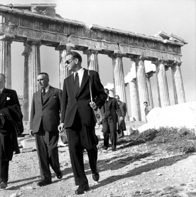 UN Secretary-General Visits the Acropolis