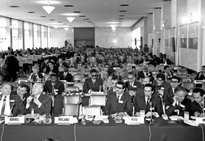 International Conference on Human Rights Opens in Teheran, Iran,  22 April -13 May 1968