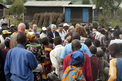 USG for Humanitarian Affairs Visits IDP Camp