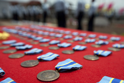 Medals of Honour for MONUC Police Force