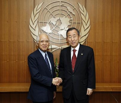 Secretary-General Meets ICJ President