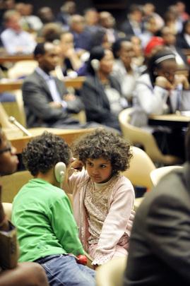 Children Attend Rwanda Genocide Anniversary Ceremony