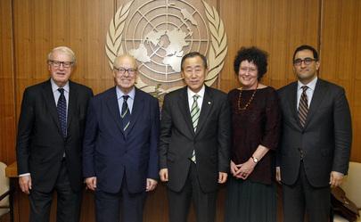 Secretary-General Meets WFUNA President
