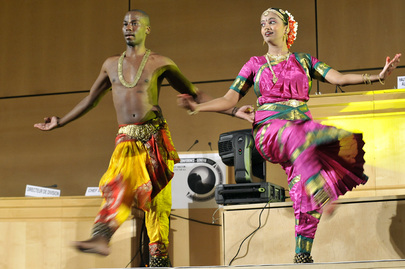 Dance Performance at Durban Review Conference