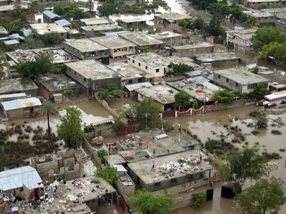 Devastation Caused by Tropical Storm Jeanne to Inhabitants of Haiti