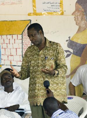 Former President of Burundi Visits Sudanese Refugee Camp