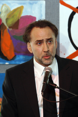 Nicolas Cage Speaks at UNODC Goodwill Ambassador Induction Event