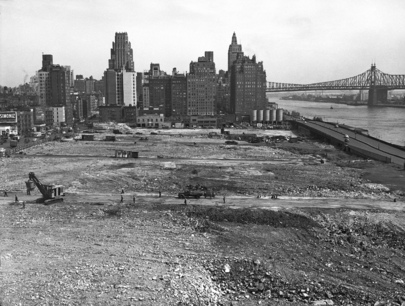 Start of Construction of United Nations Permanent Headquarters
