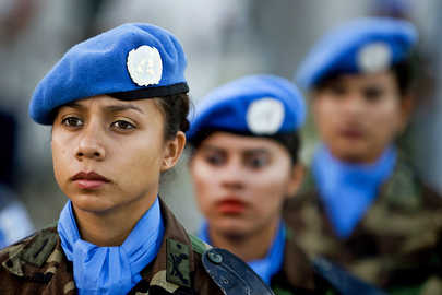 MINUSTAH Guatemalan Officers Participate in Medal Award Ceremony 