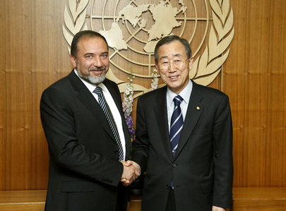 Secretary-General Meets Foreign Minister of Israel