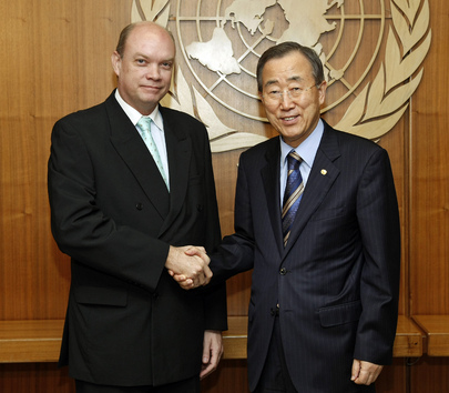 Secretary-General Meets Foreign Trade Minister of Cuba