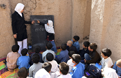 UNICEF Supports Community School in Afghanistan