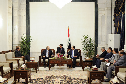 UN Special Representative for Iraq Meets Prime Minister of Iraq