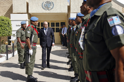 UN Special Representative for Iraq Visits UNAMI Office