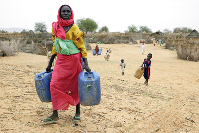 Water Distribution in Tora Northern Darfur