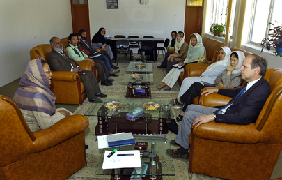Deputy Special Representative for Afghanistan Meets Bamyan Governor
