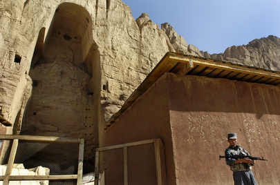 Remains of the Buddhas of Bamyan