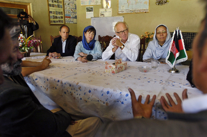Special Representative for Afghanistan Speaks with Village Elders