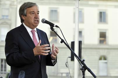 O Alto Comissário da ONU para Refugiados, António Guterres. Foto: ONU/Jean-Marc Ferré.