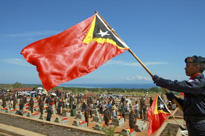 FALINTIL Soldiers Reburied for 10th Anniversary of Timorese Independence