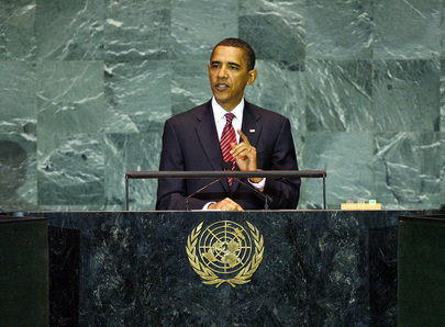 U.S. President Addresses General Assembly