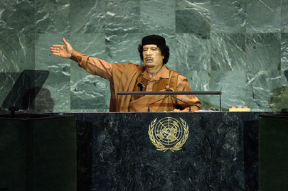Leader of Libya Addresses General Assembly