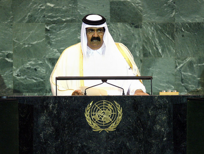 Emir of Qatar Addresses General Assembly