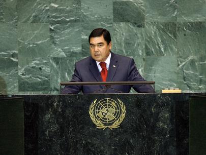 President of Turkmenistan Addresses General Assembly